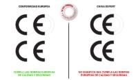 Diferencia entre el sello CE de Europa y China Export