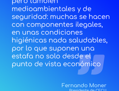 Cita de la semana: Fernando Moner (CECU)